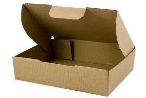 Warensendung Karton 187 x 138 x 49 mm