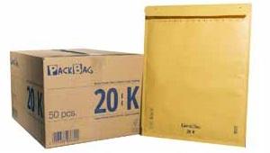 Luftpolsterversandtaschen 20/K braun
