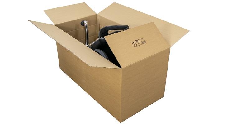 DHL-Karton für Paket XL