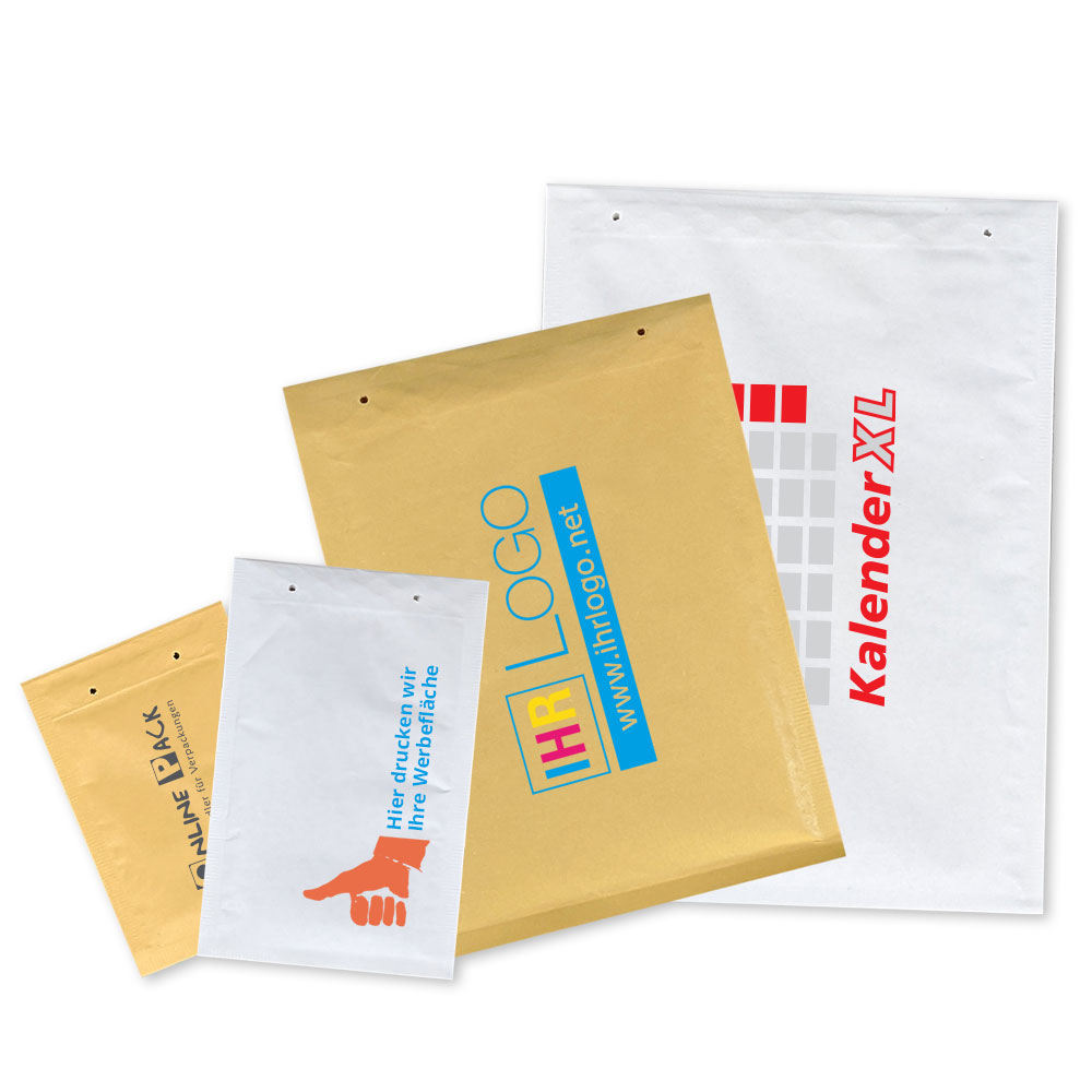 Luftpolstertasche bedrucken