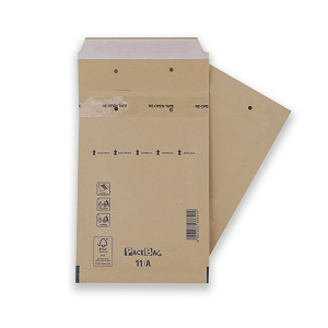Warensendung Kompakt Verpackung braun