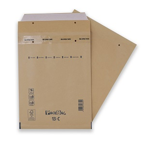 Warensendung Kompakt Verpackung braun 170x230 mm