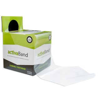 Dehnband transparent 100mm x 1200mm - activaBand Basic