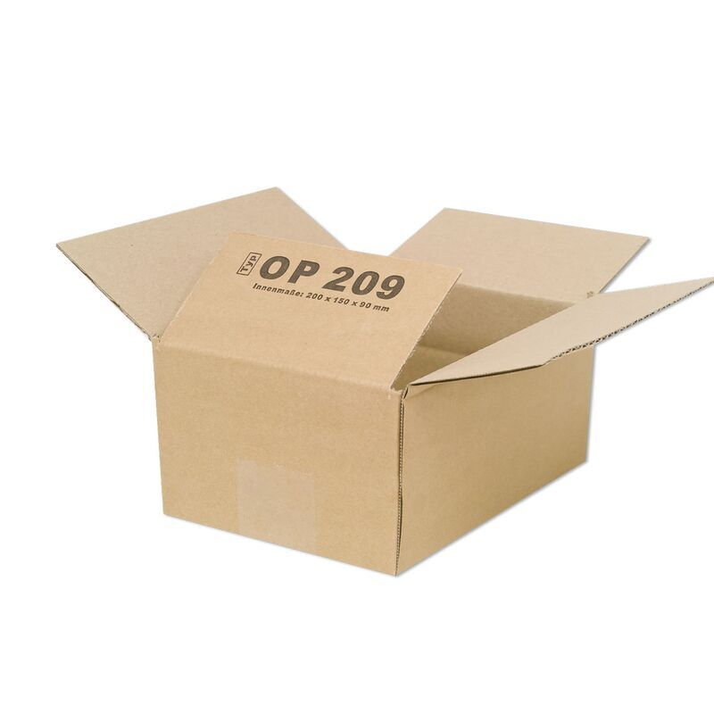 faltkarton 200x150x90mm 1 wellig kaufen. Black Bedroom Furniture Sets. Home Design Ideas